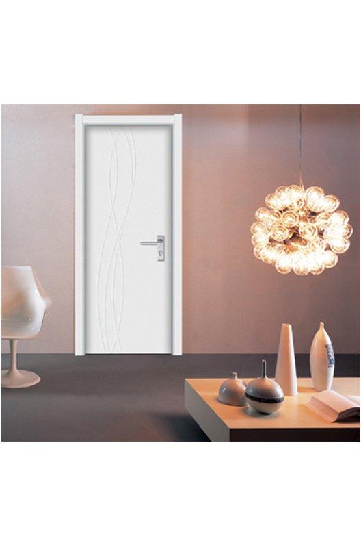 白色复合烤漆门