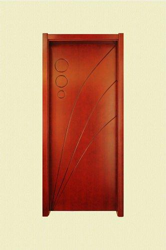<b>棕红色斜纹带圆形实木烤漆</b>