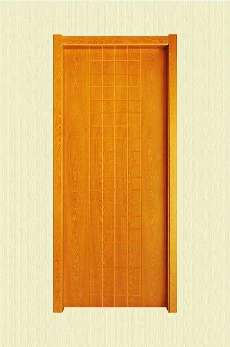黄棕色方格纹实木烤漆