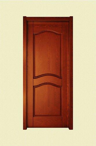 棕红色实木烤漆门