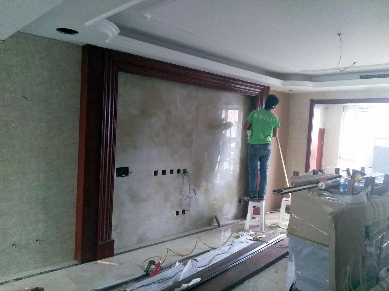 客厅背景墙造型