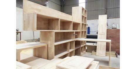 实木衣柜加工过程